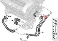 Genuine BMW E82 E88 E89 E90 E91 Thermostat Water Cooling Hose OEM 11537541992