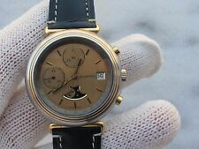 RARE WYLER VETTA AUTOMATIC CHRONOGRAPH MOONPHASE VALJOUX 7758 MENS 40mm SERVICED