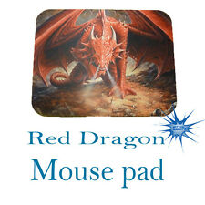 Red dragon Anti Slip PC Gamer Picture Mouse Pad