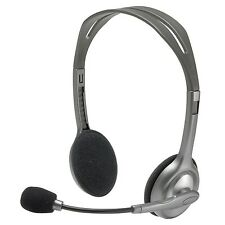 Logitech H110 Stereo Headset with Microphone for PC & Mac