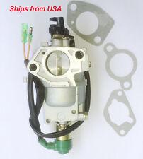 Carburetor Carb For Gentron Pro2 GG7500 GG6000 389CC 13HP Gasoline Generator