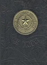 "1985 ""Tiger"" - Texas Southern University Yearbook - Baton Rouge, Louisiana HBC"