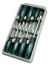 KAMASA SCREWDRIVER SET 7 PIECE FLAT POZI PZ PHILLIPS T BAR GRIP HOLDER