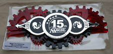 MTG 15th Anniversary Red Life Counter MINT IN ORIGINAL HOLDER, FREE SHIPPING