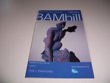 2013 NEXT WAVE FESTIVAL BAMBILL THEATRE PLAYBILL - ANNA NICOLE - BARASCH BARBOUR