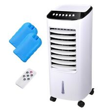 7L Evaporative Air Cooler Portable Fan Humidifier 3 Speed Home with 2x Ice Boxes
