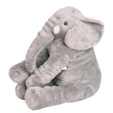 Long Nose Elephant Pillow Doll Soft Plush Stuff Toys Pillow Lumbar Kids Baby *