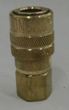 "10 Pack Milton 715 Air Hose Couplers M style 1/4"" Female Npt Threads"