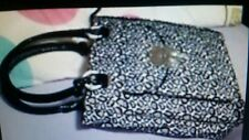 RRP $249 NEW MIMCO Lucid Turnlock Tote Shoulder Bag Satchel Black Leopard print
