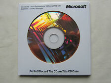 MICROSOFT Office 2003 PROFESSIONAL EDITION COMPLETA VERSIONE XP/Vista/Win 7/8/10
