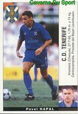 32 PAVEL HAPAL REP.CZECH ULTIMOS FICHAJES CD.TENERIFE STICKER LIGA 95-96 PANINI