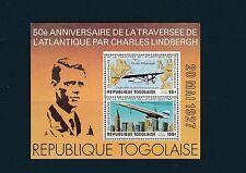 Togo bloc  atlantique sud  Lindbergh  concorde  de 1977   num:  106  **
