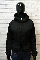 Giubbino Giubbotto Donna REFRIGIWEAR Taglia S Cappotto Nero Giacca Jacket Woman