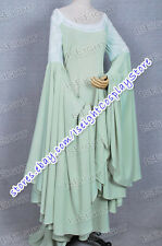 The Lord of the Rings Arwen Green Dress Costume Gown * Hand Made Tailor Made