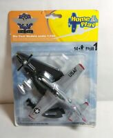 ITALERI AVIATION GLORY 1:100 SCALE DIECAST P-51D MUSTANG USAF - SEALED PACK