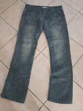 velsra SIGNATURE MENSWEAR Designer jeans sz 32 Grey Straight leg