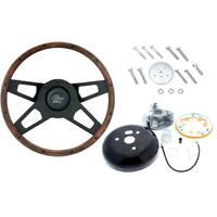 Grant 404 Challenger Steering Wheel, 13-1/2 Inch w/Install Kit
