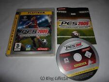 Jeu Playstation 3 - Pro Evolution Soccer 2009 PES 2009 (Platinum) - PS3