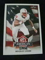 2018 Leaf Draft RC Denver Broncos Bradley Chubb All American Rookie Card #AA-03