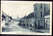 cpa 03 Saligny-sur-Roudron . Entrée du Bourg  ( Allier )
