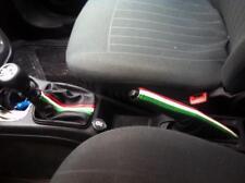 Cuffia cambio e freno Fiat Grande Punto vera pelle nera+tricolor