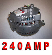 1989 1990 1992 1993 Ford Bronco Mustang 240 High Amp 3G LARGE CASE HD Alternator