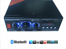 AMPLIFICATORE STEREO BLUETOOTH AUDIO AUTO CASA USB SD CARD MP3 RADIO FM CM-777BT