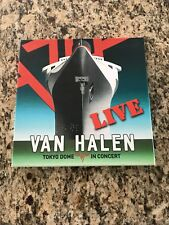 VAN Halen in Concert [LP] 4 Record Box set Live  the Tokyo Dome