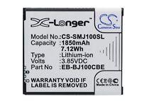 1850mAh Battery For Samsung SM-J100F, SM-J100FN, SM-J100H, SM-J100H/DD