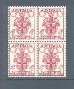 AUSTRALIA PREDECIMAL 1956 OLYMPICS VERY FINE MNH...........29