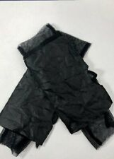 RUNDHOLZ DIP BLACK LAMBS LEATHER GLOVES/MITTENS COTTON MESH INNERS SIZE M BNIB