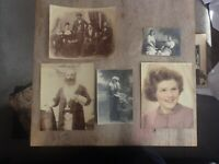 Vintage Australian Family Portraits From The Late 1800s Early 1900s (L11)