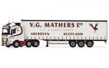 Corgi Cc16003 - VOLVO FH Curtain Side Trailer V.g. Mathers