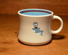 Starbucks 2006 Blue One-Eyed Ghost With A Heart Halloween Mug Cup
