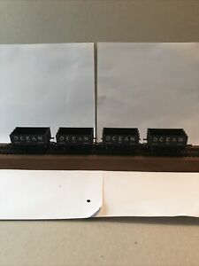 Rake Of Four  Hornby OO Gauge Coal Wagons With Ocean Logo R.009