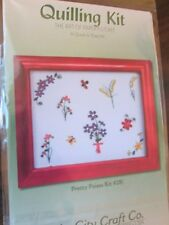 """Quilling Kit """"Pretty Posies"""" Lake City Craft"""