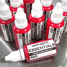 NEW 1 OZ. RED Essentials Color Fishing Soft Plastic Bait Lure Making plastisol
