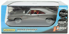 Pioneer Gray Stealth '69 Dodge Charger 426 Hemi Dealer Sp. 1/32 Slot Car P092-DS