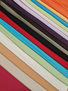 JERSEY LYCRA FABRIC 26 Colours - SOLD BY THE METRE