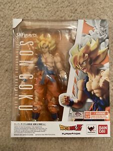 S.H.Figuarts Dragon Ball Z Super Saiyan Son Goku Awakening Mint In Box Brand New