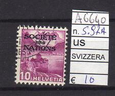 FRANCOBOLLI SVIZZERA SERVIZI USATI N°97A (A6640)