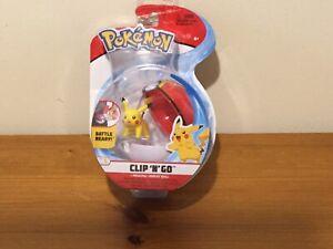 Pokemon Pikachu Clip 'N' Go Action Figure