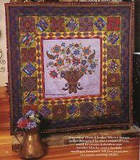 Jacobean Jewels Quilt Pattern Pieced/Fussy Cut Applique BC