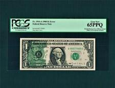 """$1.00 1988 with """"Multi-Errors of Torn Sheet Offset & 3rd on.Back""""~Pcgs-65Ppq- Wow"""