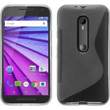 Coque en Silicone Motorola Moto G 2015 3. Generation S-Style transparent