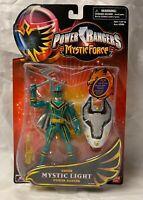 Bandai 2006 Power Rangers Mystic Force Green Light Ranger Figure - Sealed