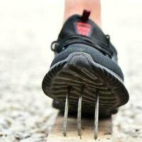 Safety Shoes Mens & Women Lightweight Steel Toe Cap Work Shoes Size 36-48 L4Z2