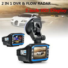 HD 1080P 2'' Car Video Camera Recorder Dash Cam Radar Speed Detector DVR New