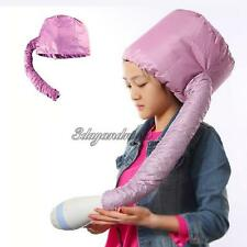Portable Soft Hair Drying Cap Bonnet Hood Hat Blow Dryer Attachment Curlformers