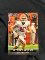 2021 LEAF I-CARD FOOTBALL ROOKIE CARD LI-16 TREVOR LAWRENCE SP CLEMSON TIGERS